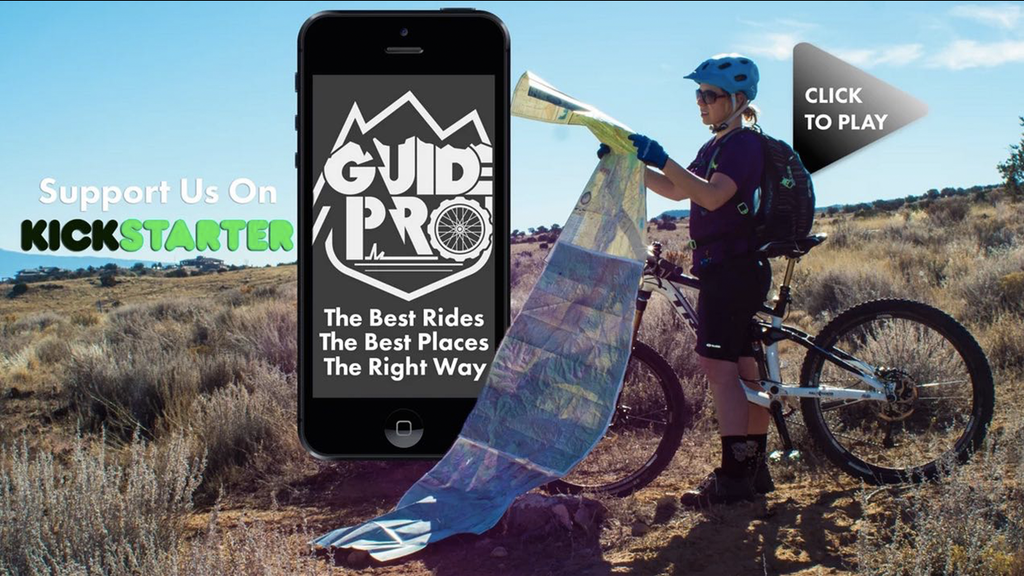 Guide Pro || Mobile App To Simplify Mountain Bike Adventures project video thumbnail
