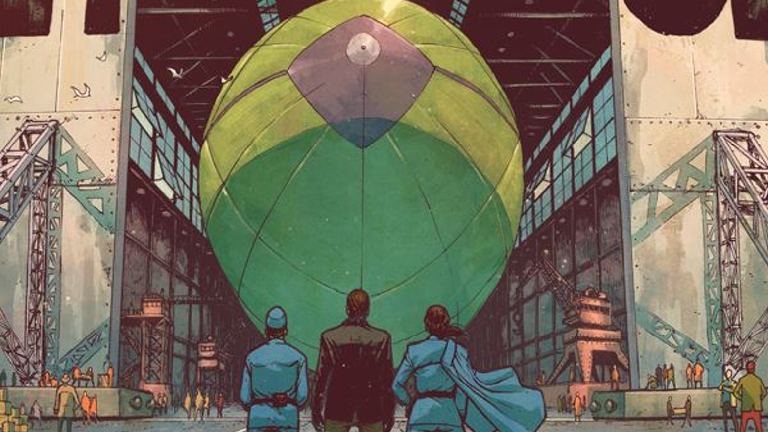 An airship story of loyalty and revenge.