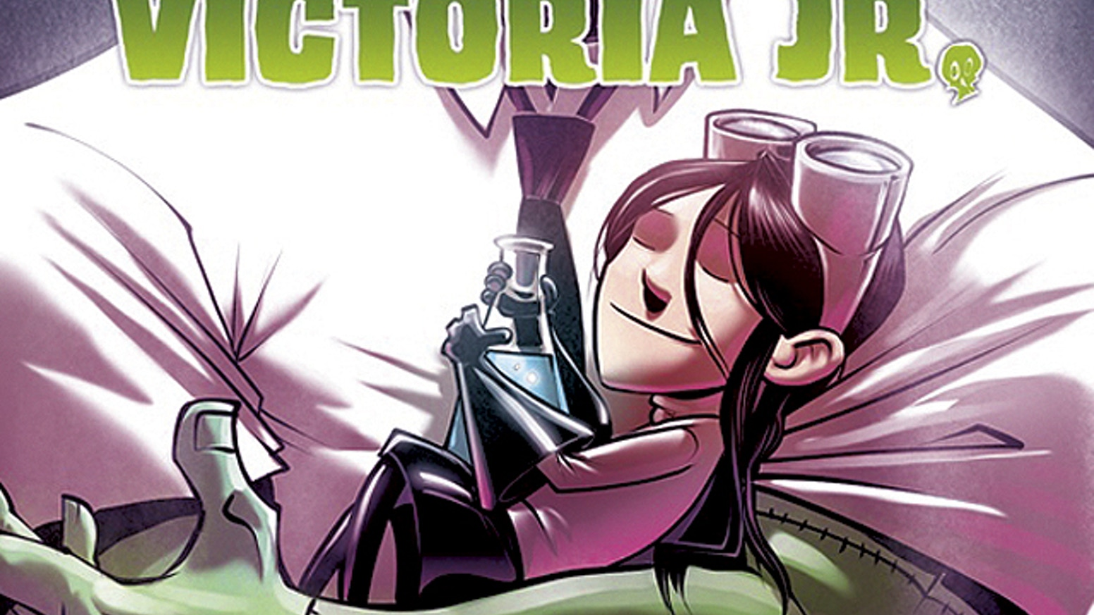 Victoria Jr. is a collection of short stories about a bold young human girl who lives in a city of monsters and creatures.