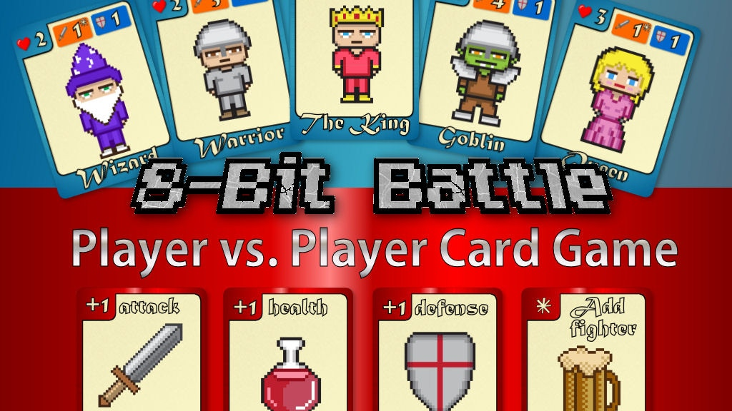 Project image for 8-Bit Battle (PvP Card Game)