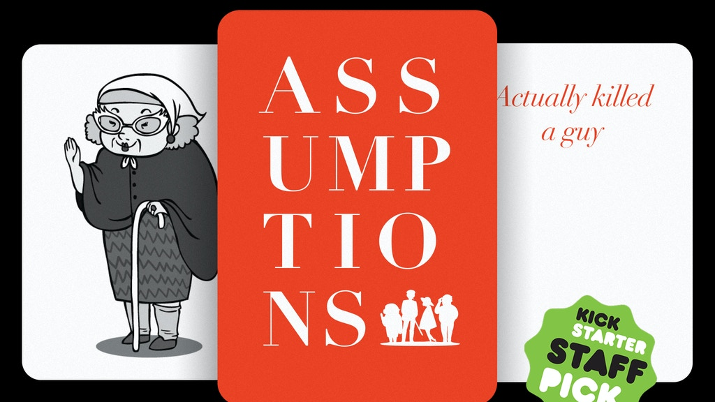 Assumptions - A Card Game project video thumbnail