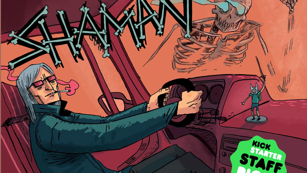 Shaman - A Supernatural Adventure Comic project video thumbnail
