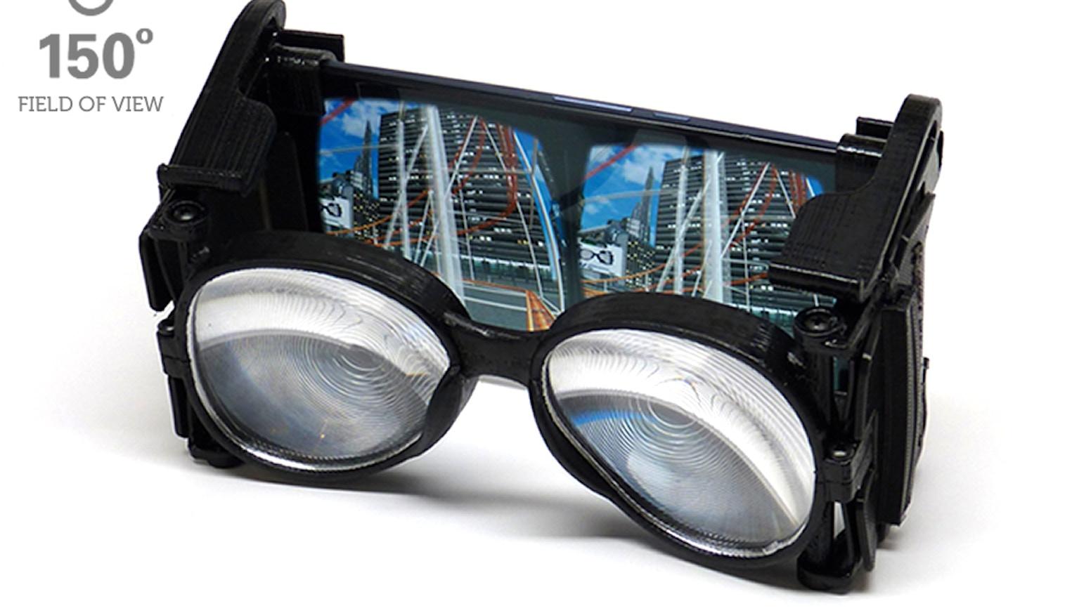 2d2aa20b6efb Wearality Sky  Limitless Virtual Reality (VR) by Wearality — Kickstarter