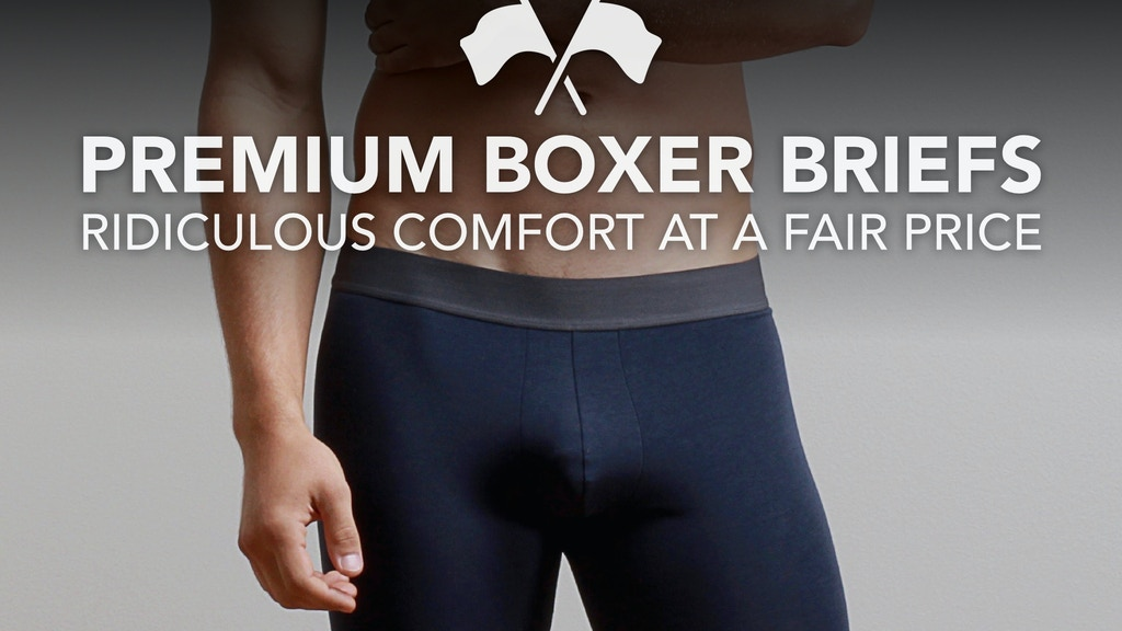 Premium Boxer Briefs: Ridiculous Comfort at a Fair Price project video thumbnail