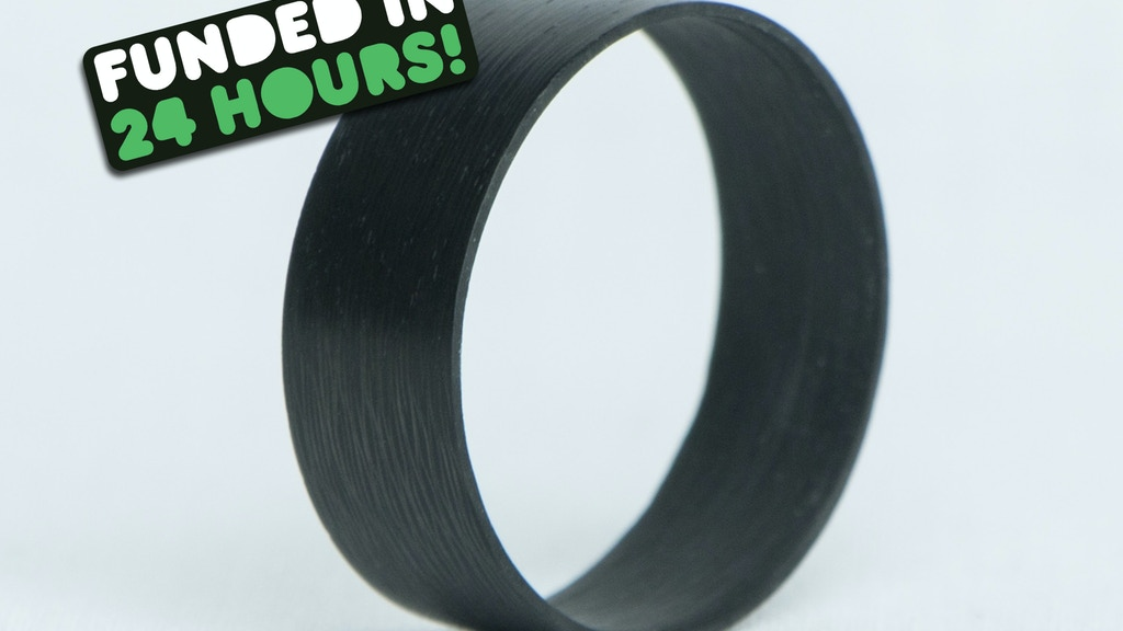 RAZER RING - The Light and Thin 100% Carbon Fiber Ring project video thumbnail