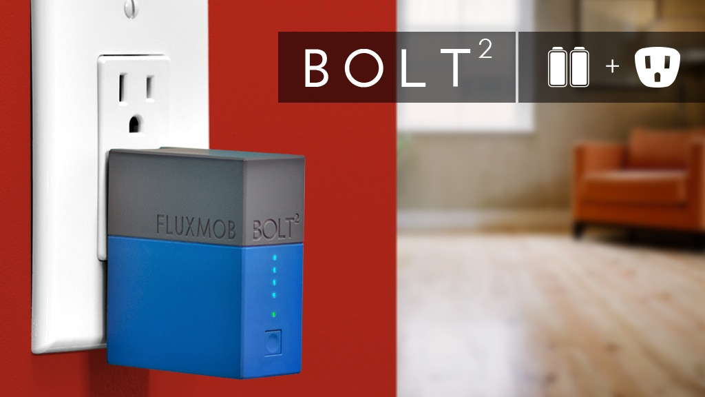 BOLT² World's Smallest 2.4A Battery Backup + Wall Charger project video thumbnail