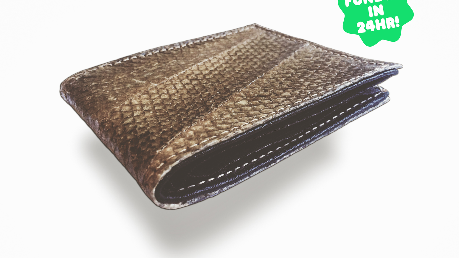 One of a kind Alaska Salmon Leather Wallets! Upcycled from a sustainable fishery, 100% made in the USA.