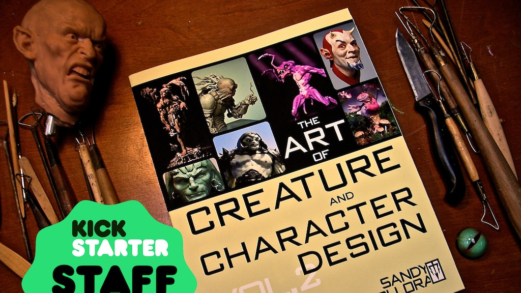 Sandy Collora The Art Of Creature And Character Design