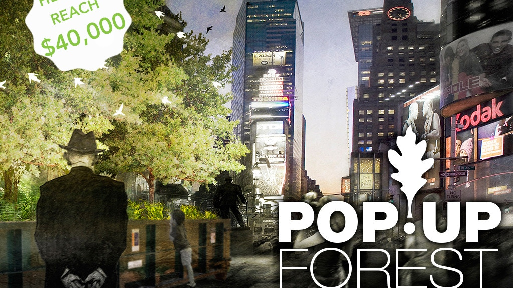 Build a PopUP Forest in Times Square, NYC project video thumbnail