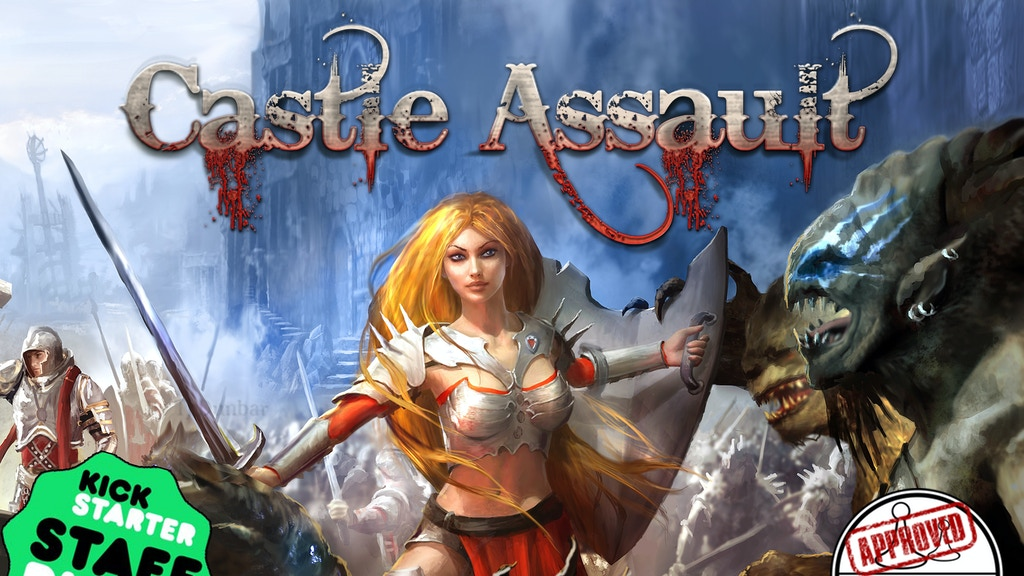 Castle Assault: A Battle Card Game for 1 or 2 Players project video thumbnail