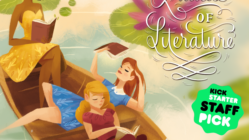 LADIES OF LITERATURE: VOLUME 2 Illustration Anthology project video thumbnail