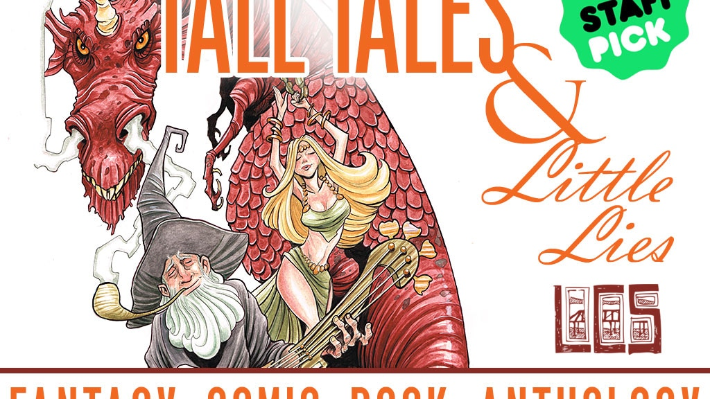 Tall Tales & Little Lies: A Fantasy Anthology Graphic Novel project video thumbnail