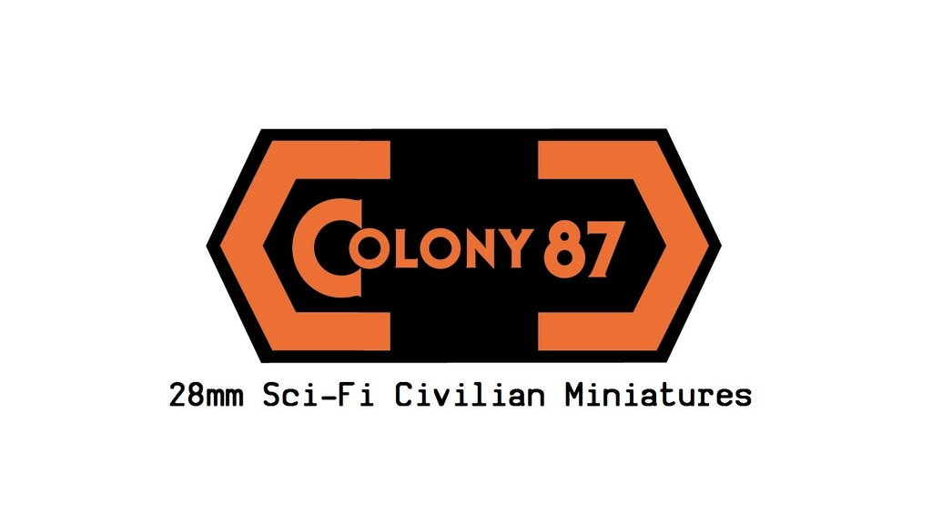 Colony 87 - 28mm Sci-Fi Civilians project video thumbnail