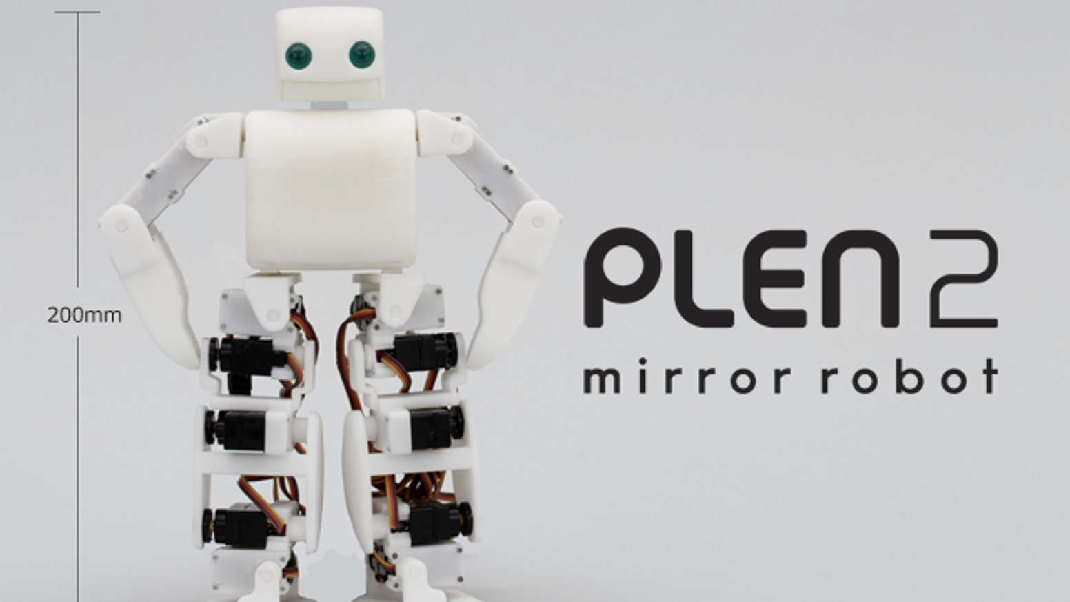 Plen2 The Worlds First Printable Open Source Humanoid By Plen Robot Hobby Circuits Free Electronic Circuit Robotics Project