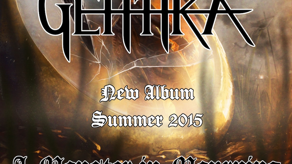 Gehtika - New Album - A Monster in Mourning project video thumbnail