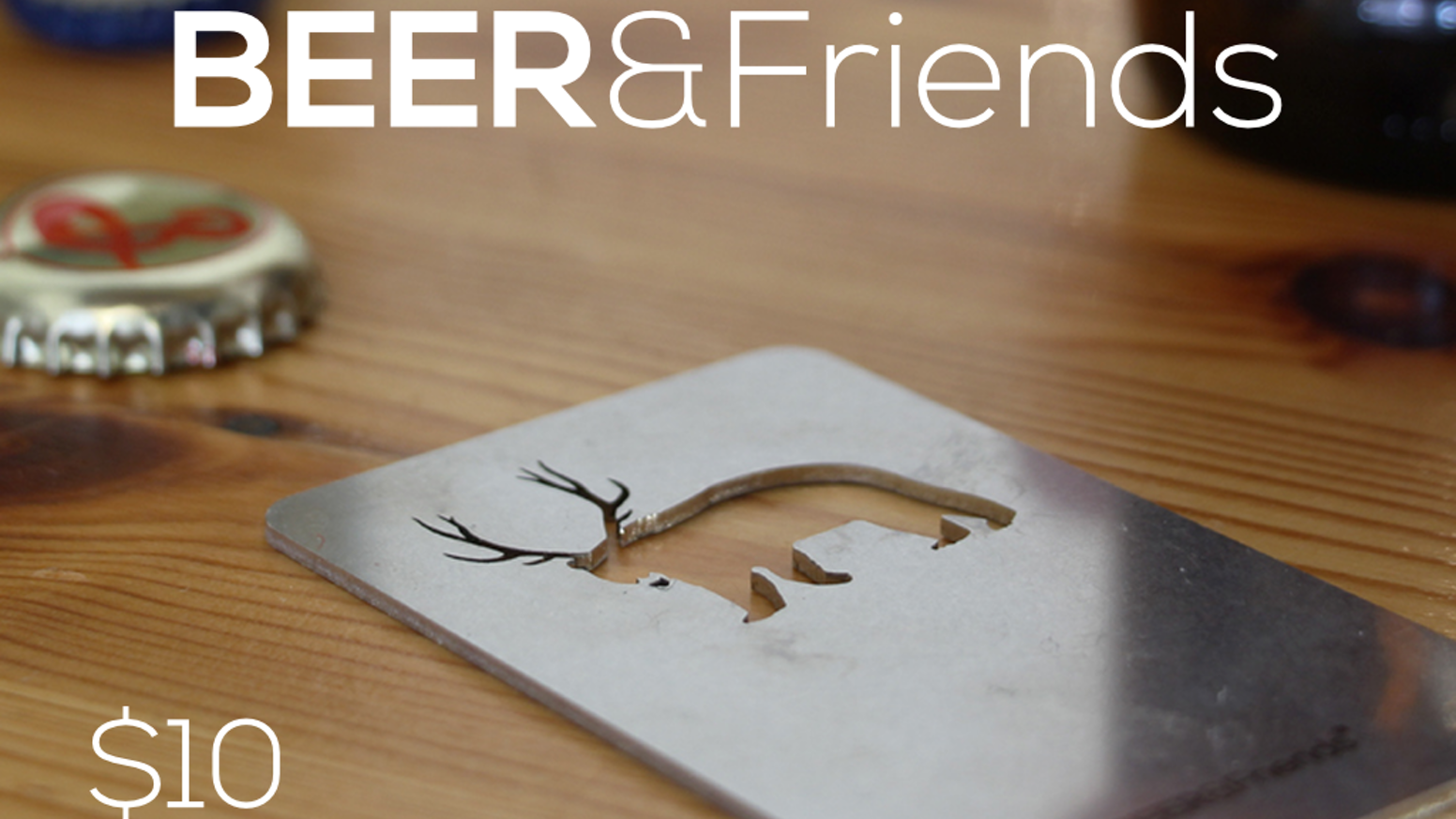 Laser cut bottle openers that give you a reason to live. Made in USA.