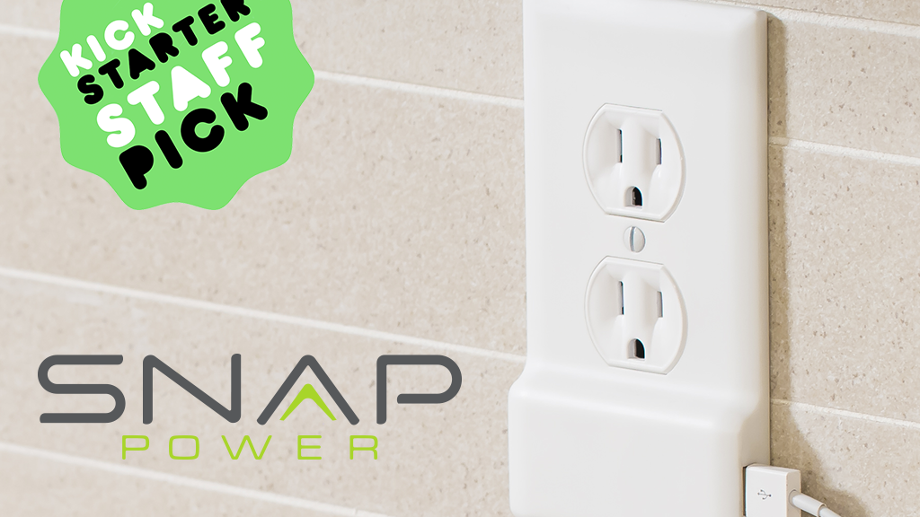 SnapPower Charger: A USB charger in a coverplate - no wiring project video thumbnail