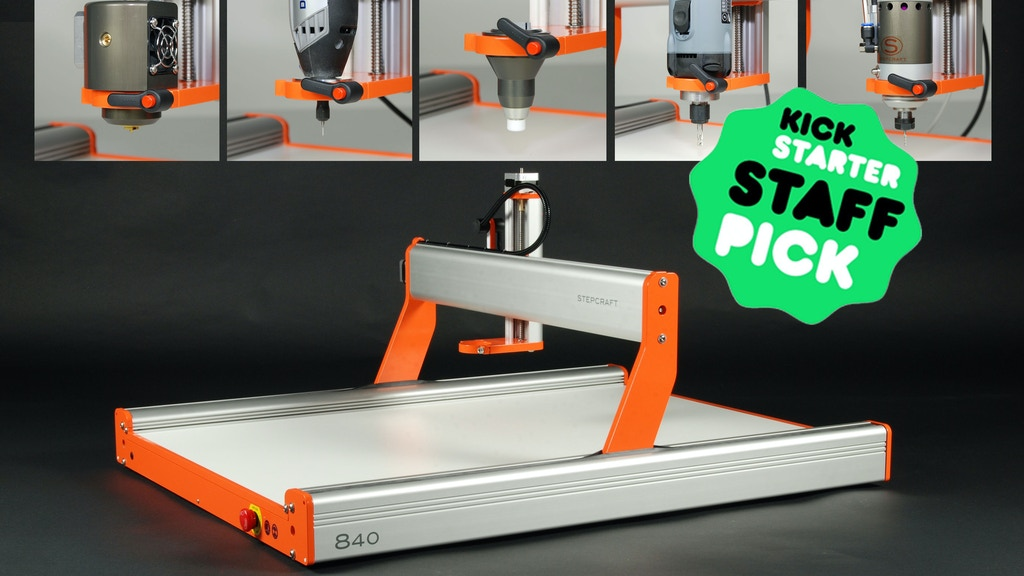 Stepcraft 2: Universal Desktop CNC / 3D Printer / Laser project video thumbnail