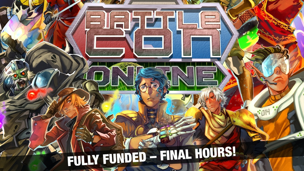 BattleCON Online - The Fighting Card Game, Now Online! project video thumbnail