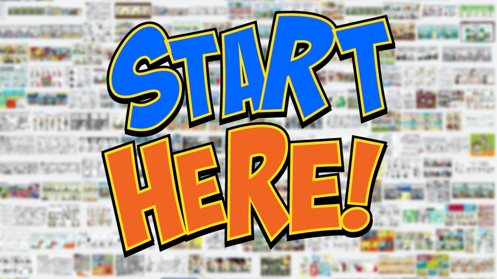 Project image for Start Here – Funny Webcomics Unite For A Historic Collection