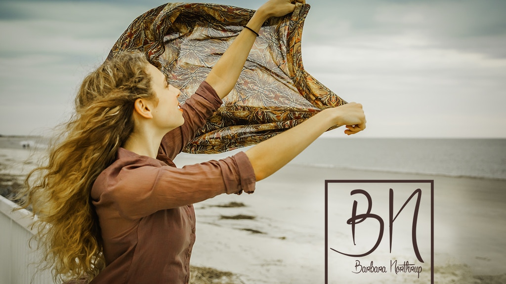 Nature inspired natural fiber scarves. project video thumbnail
