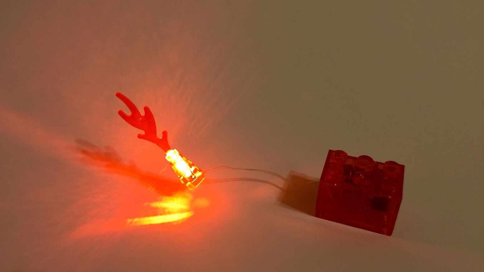 A Lego Fire light for Creator building and town.