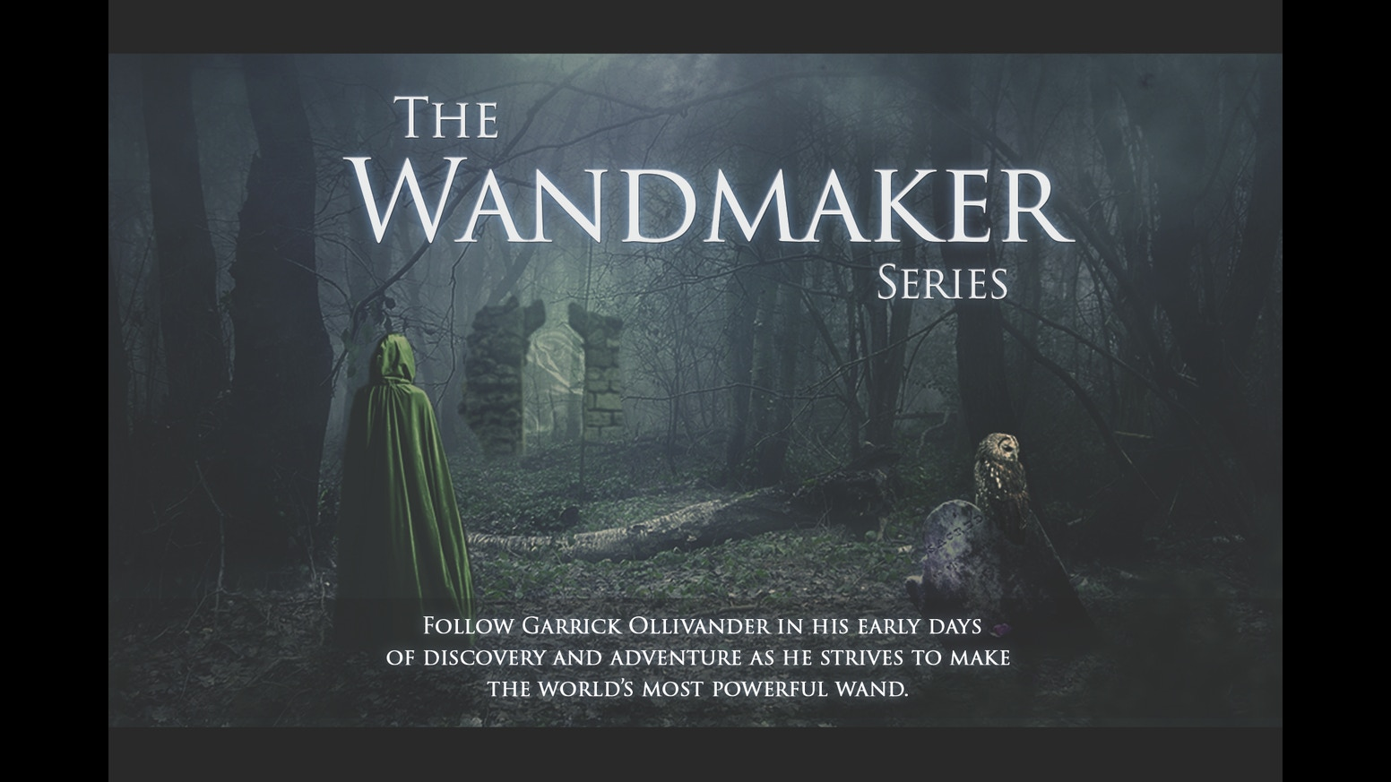 The wandmaker harry potter fan film series by dustin and for The most powerful wand in the world