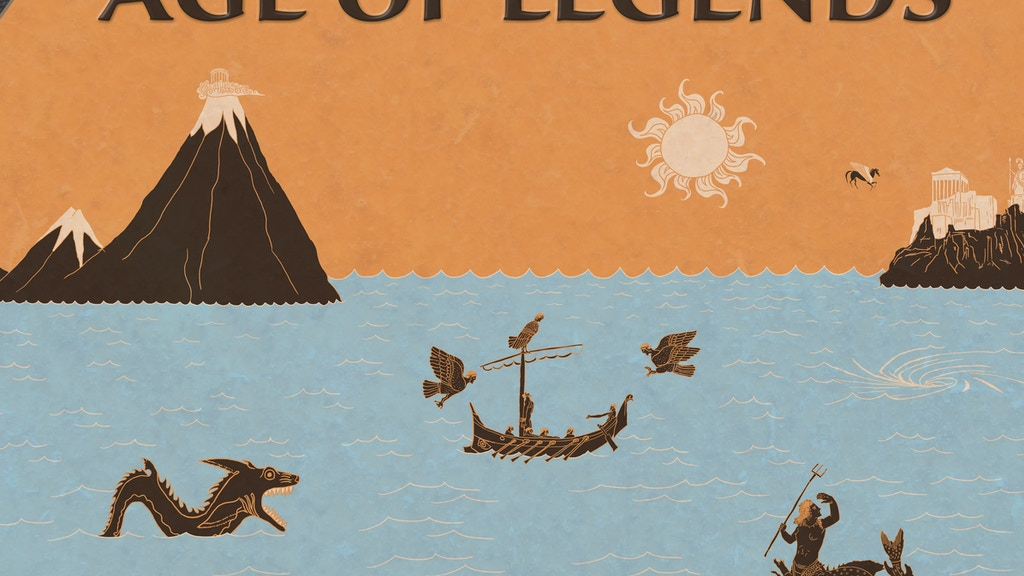 Age Of Legends: Epic adventures, small rules, tabletop RPG project video thumbnail