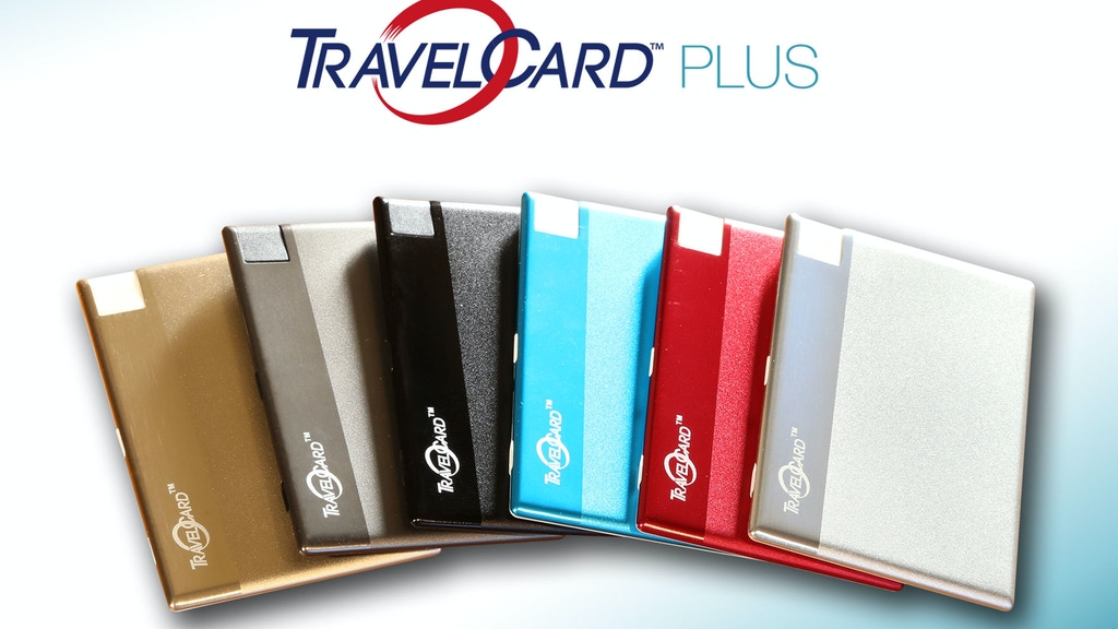 TravelCard,The Charger That Fits In A Wallet, Now Upgraded! project video thumbnail
