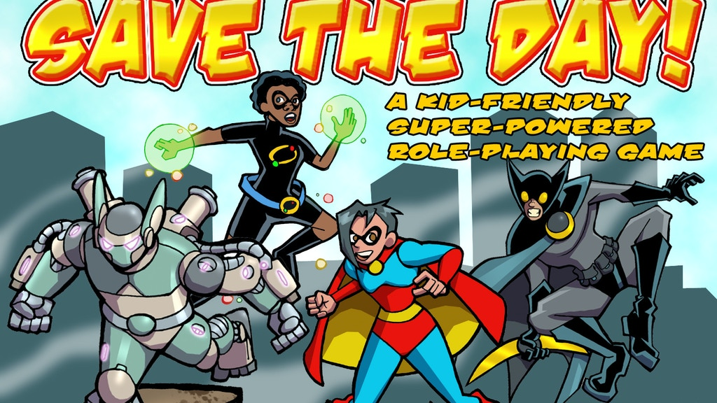 Save the Day Super Powered Role Playing Game project video thumbnail