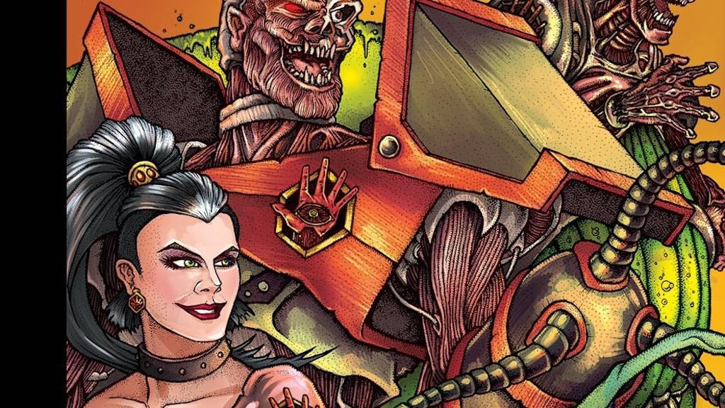 Ugli Studios Presents: #3 Sci-Fi / Horror Comic Anthology project video thumbnail