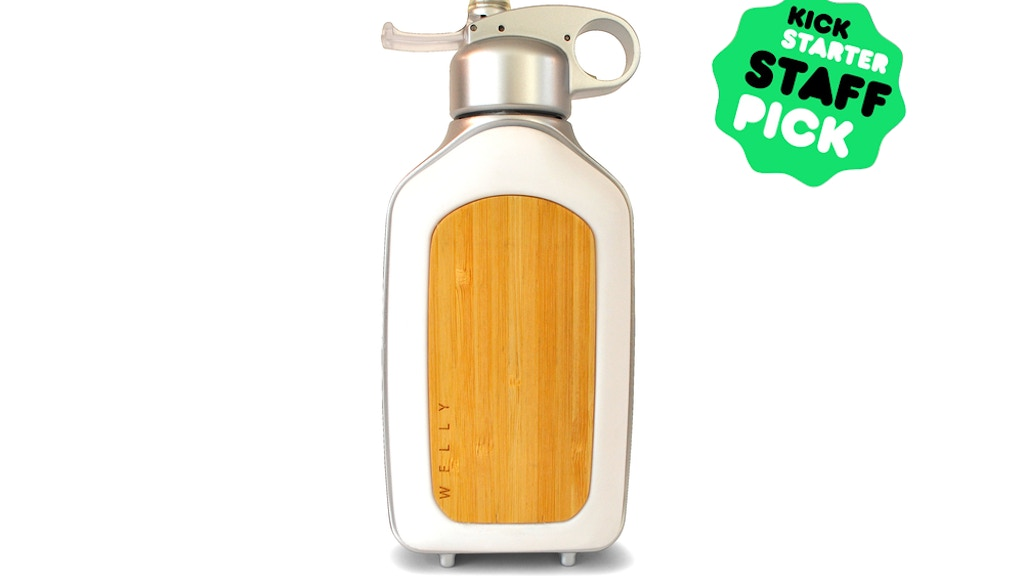 WELLY Bottle: Filtered Water On The Go. project video thumbnail