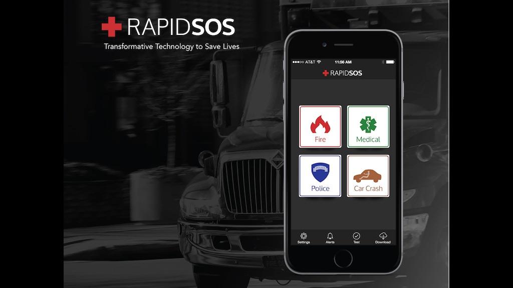Rapidsos One Touch 911 By Rapidsos Kickstarter