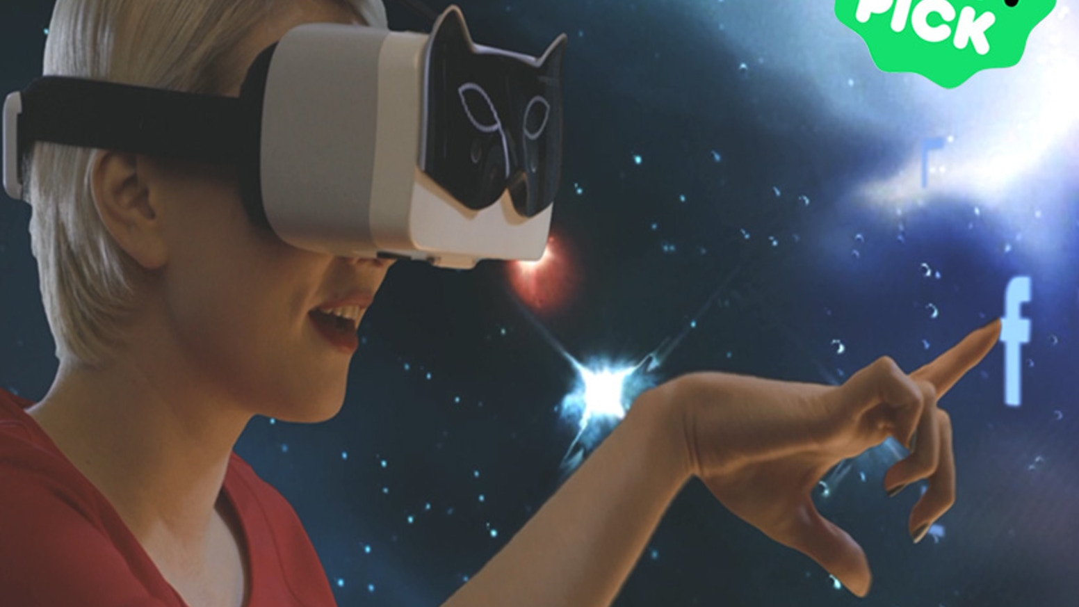 A Wireless Virtual Reality HMD that's Fashionable & Compact; Features 3D Gesture Input, Position Tracking, & Augmented Reality Overlays
