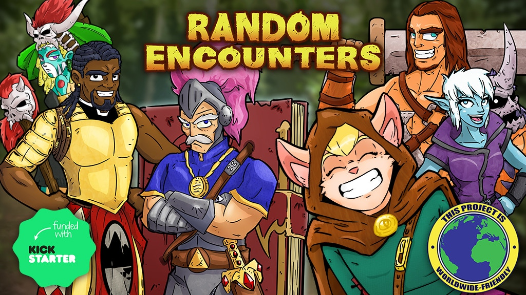 Random Encounters - The RPG Card Game! project video thumbnail