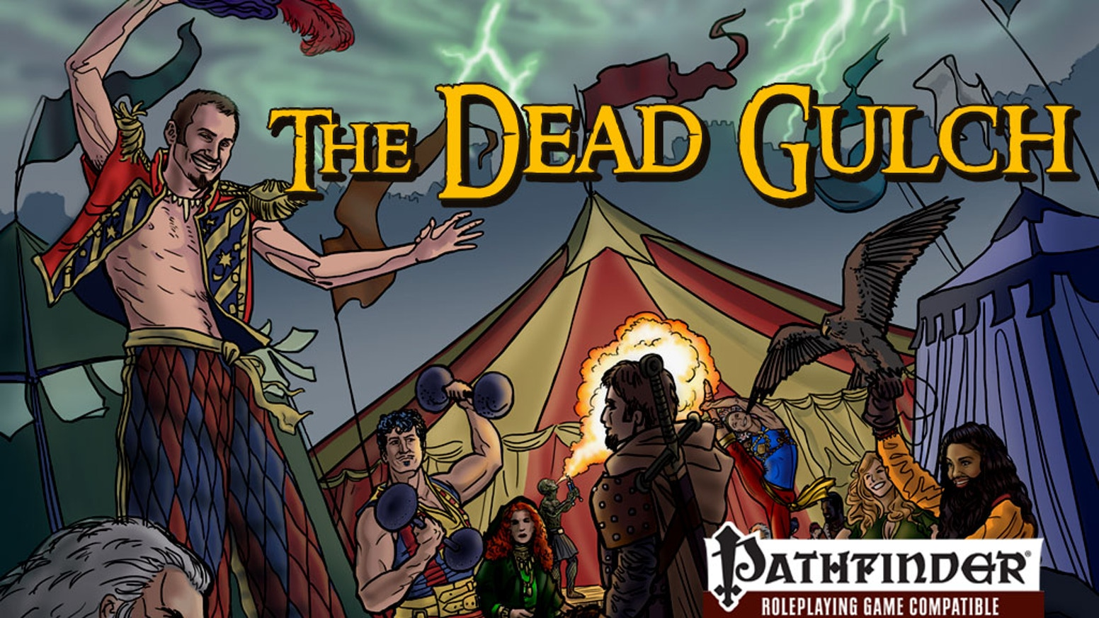 A canyon of discarded corpses, a circus, and a missing Lord; it is up to you to investigate these places in the Dead Gulch Adventure.