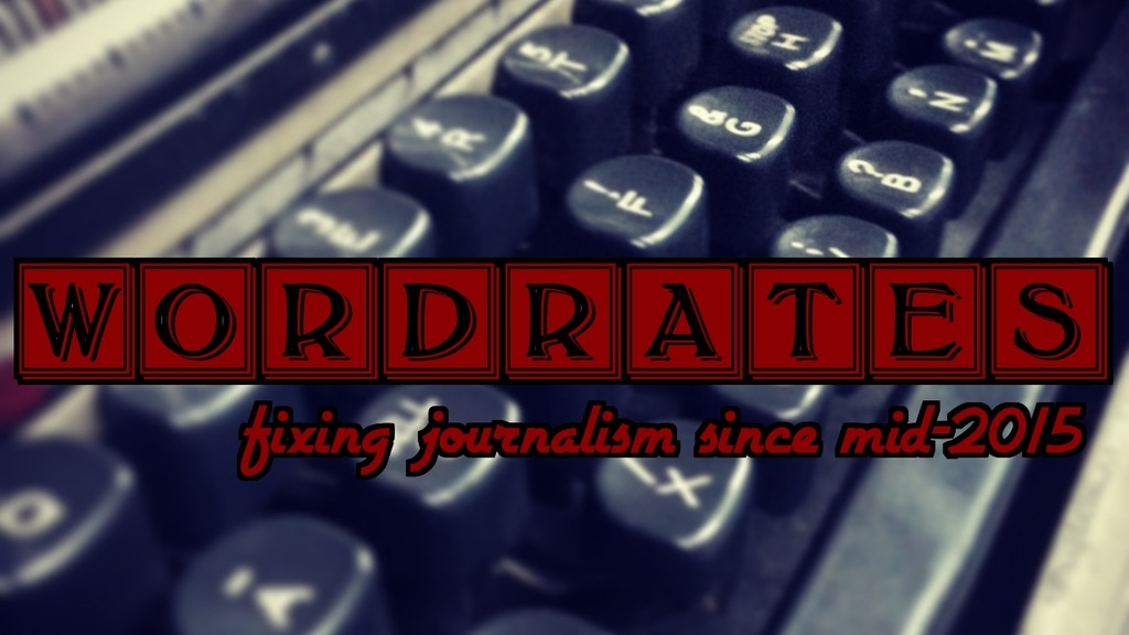WordRates & PitchLab: Fixing Journalism since mid-2015 project video thumbnail