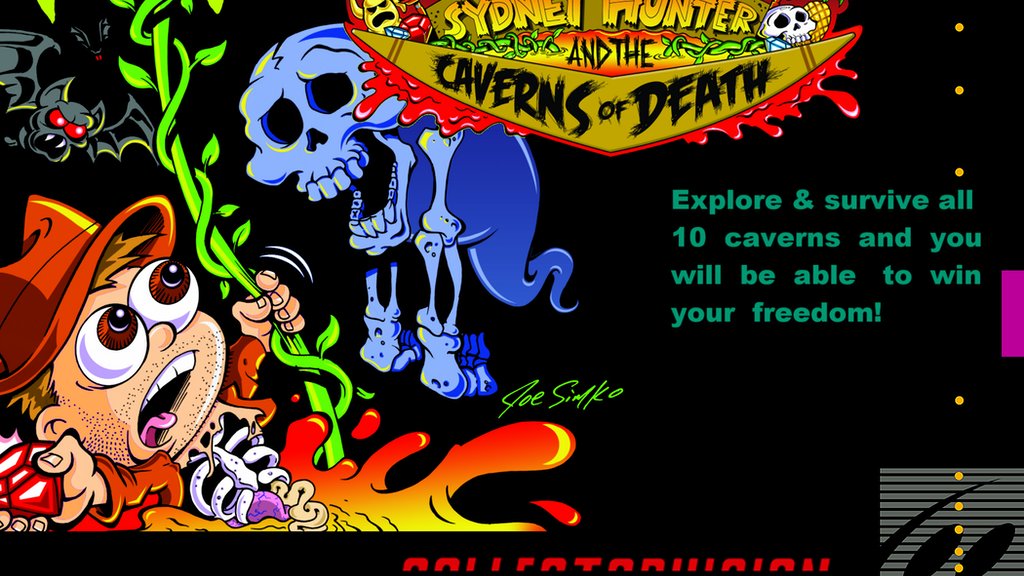 New NES & SNES Game: Sydney Hunter and the Caverns of Death project video thumbnail
