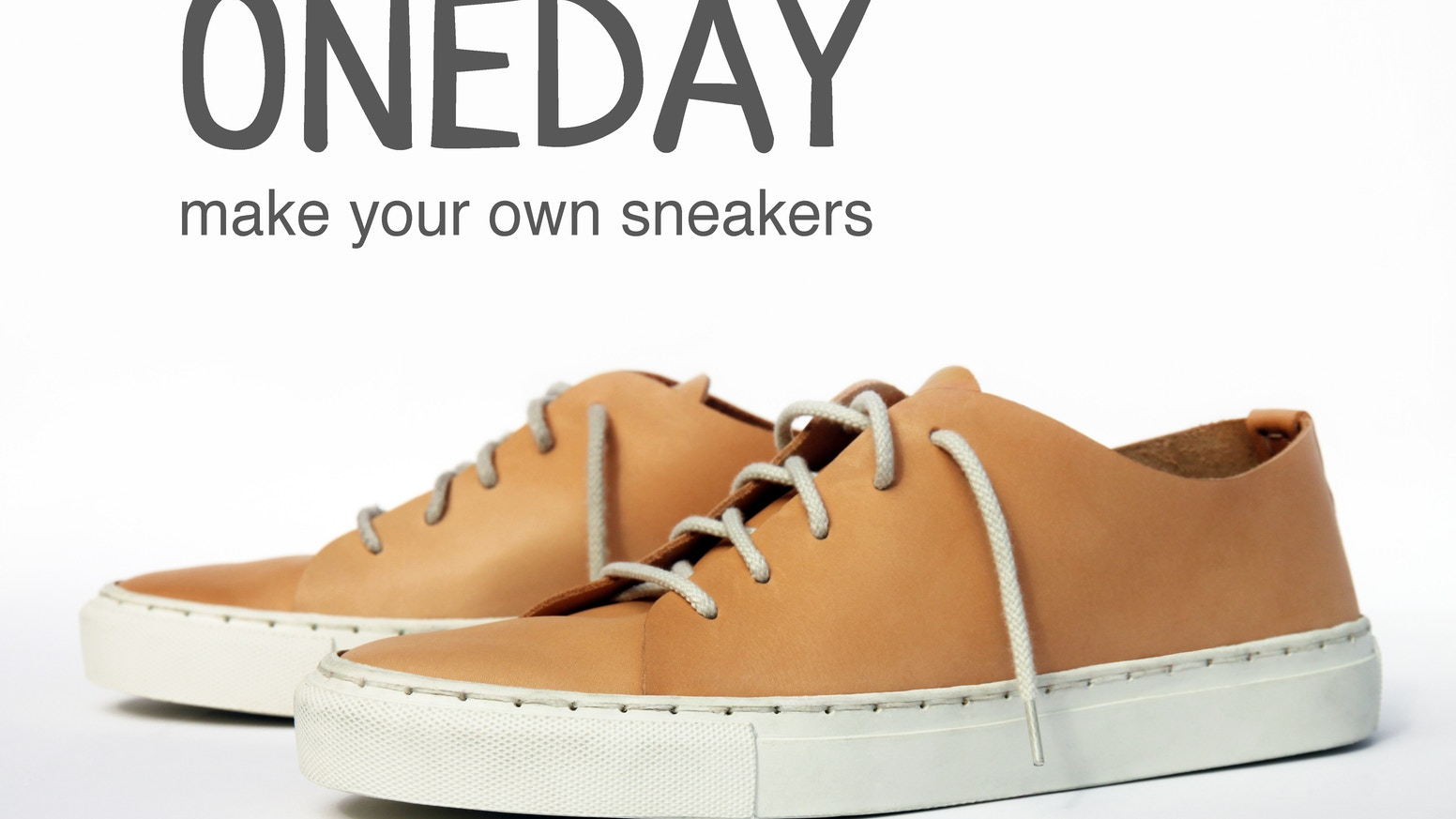 Make your own sneakers, in just one day!