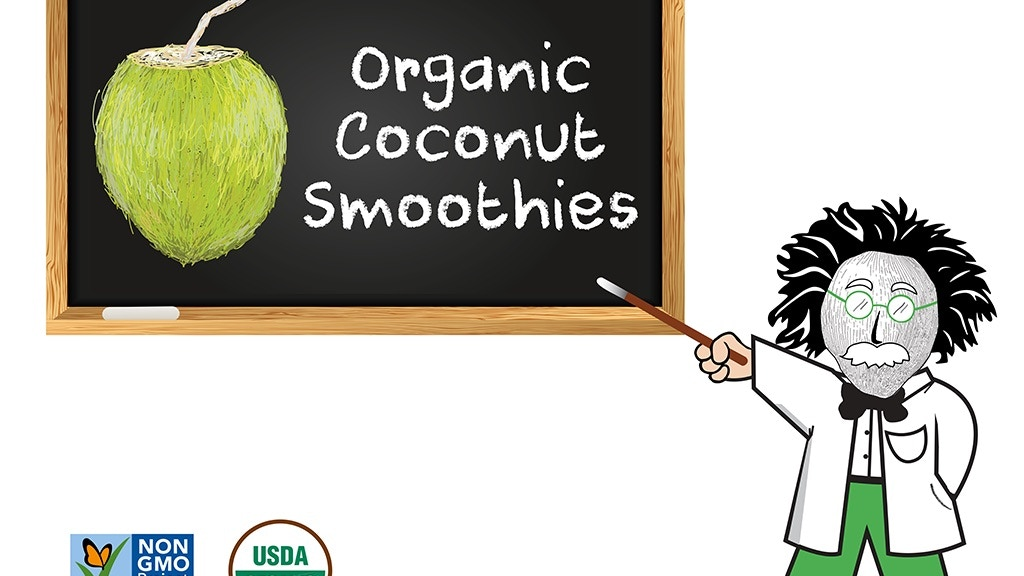 Genius Juice: Organic Coconut Smoothies project video thumbnail