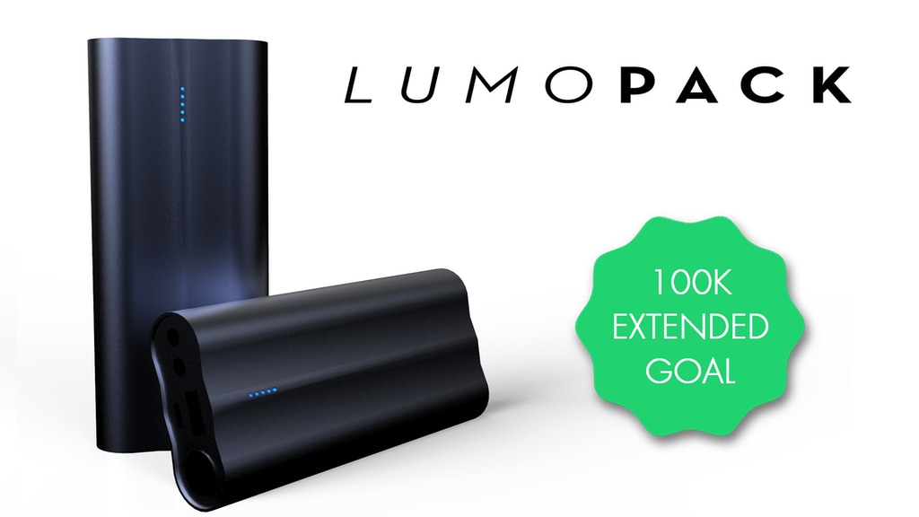 LUMOPACK | The Fastest Charging Portable Battery Pack project video thumbnail