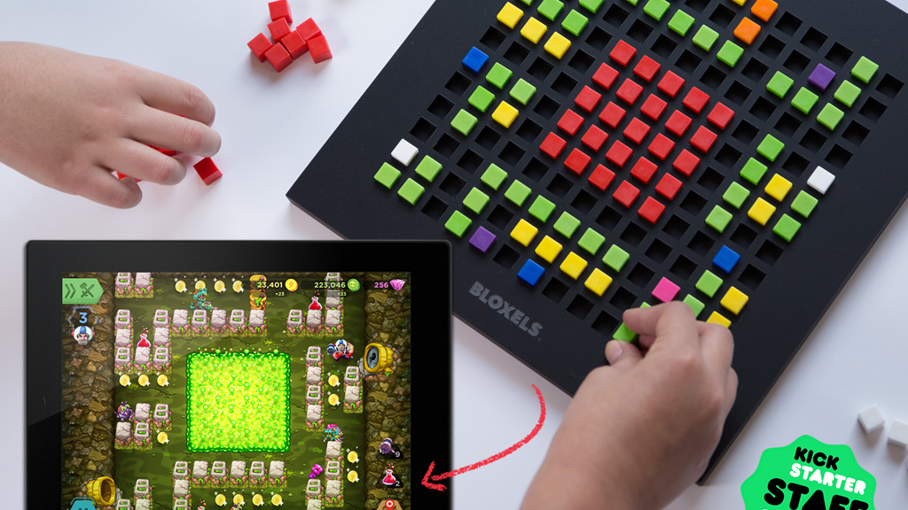 Bloxels: The Hands-on, Brains-on Video Game Builder project video thumbnail
