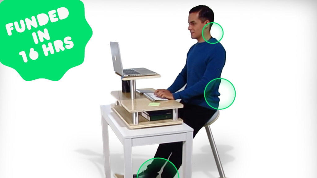A-Gravity Chair | The stand desk reinvented. project video thumbnail