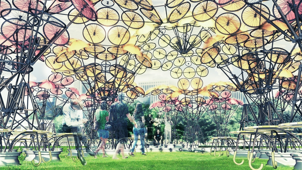 Organic Growth. Summer Pavilion on Governors Island 2015 project video thumbnail