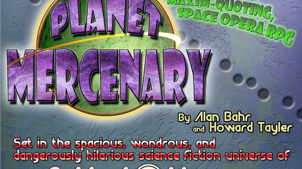 The Planet Mercenary Role Playing Game project video thumbnail
