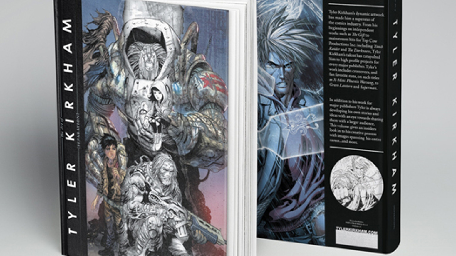 THE FIRST EVER Kirkham art book! Featuring over 13 years of comic book art, commissions, sketches, concept and graphic art. 272 pages!