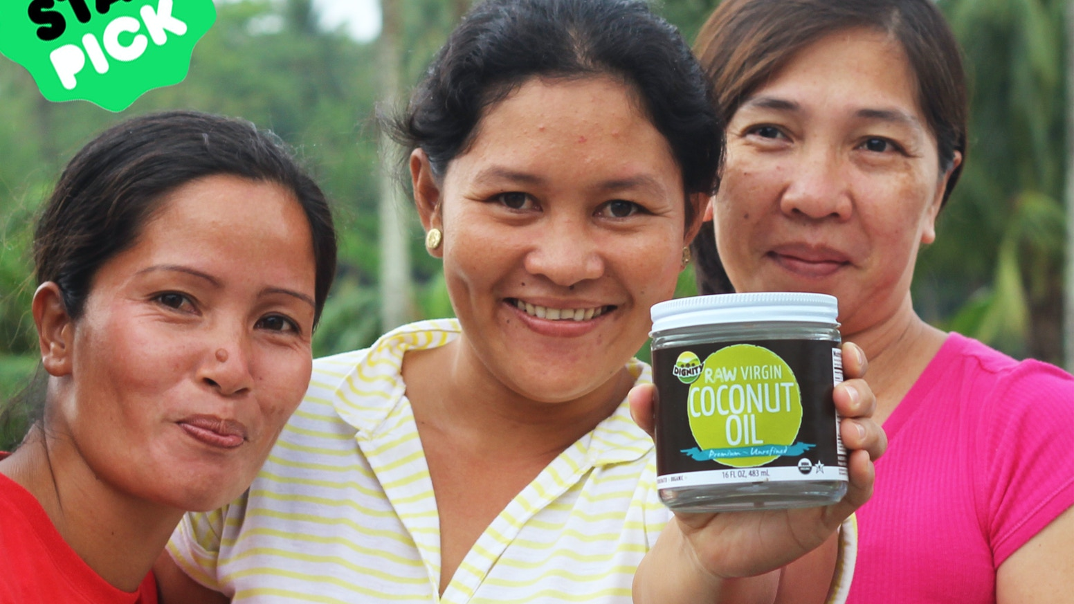 RAW Virgin Coconut Oil That Transforms Communities By