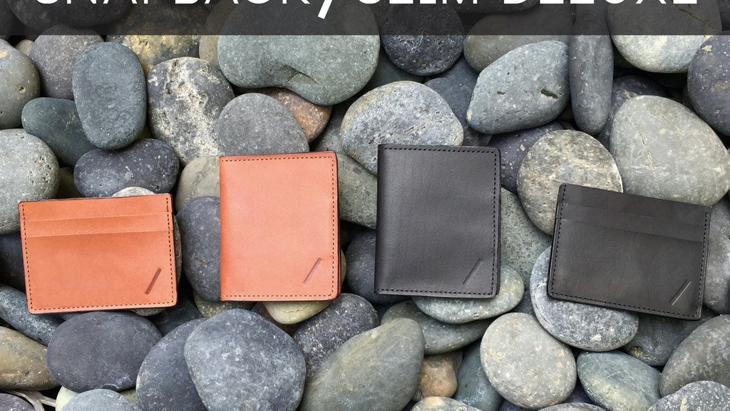 Snapback Slim Deluxe Wallet - Minimalist Wallet Collection project video thumbnail