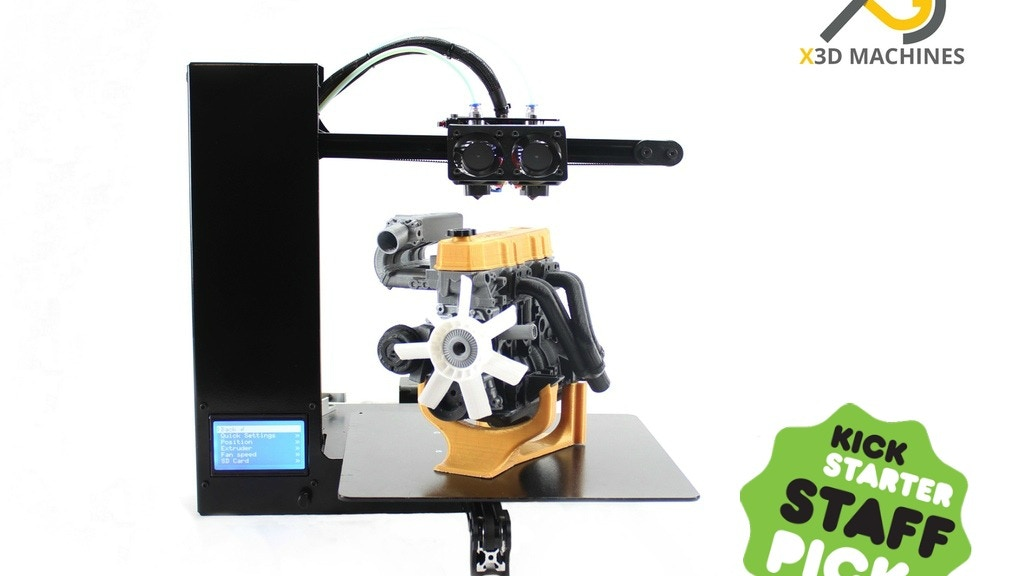 Genesis 3D Printer: The machine of the future project video thumbnail