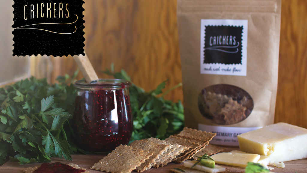 Crickers: Delicious, Healthy Snacks with Cricket Flour! project video thumbnail